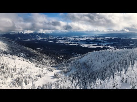 Skiing Beautiful Whitefish Montana 2020