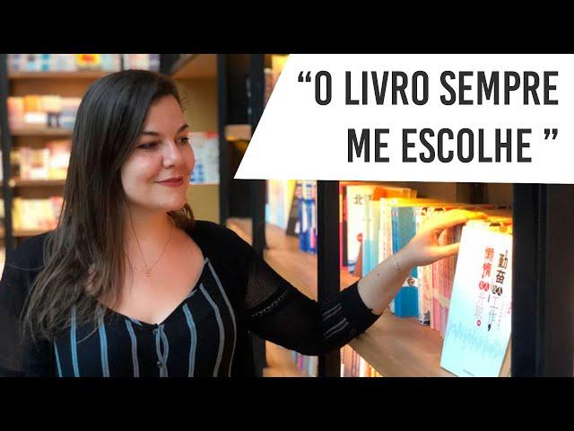 Déborah Spadotto conta como iniciou o projeto LIVROS MÁGICOS.