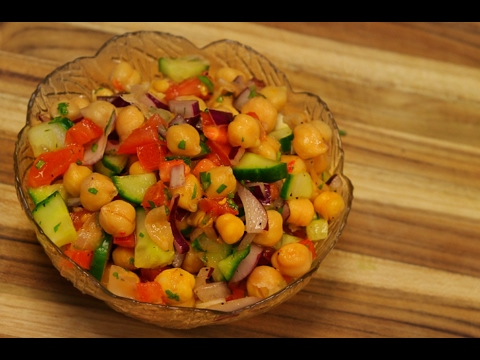 Chickpea Salad Recipe –  garbanzos – garbanzo beans