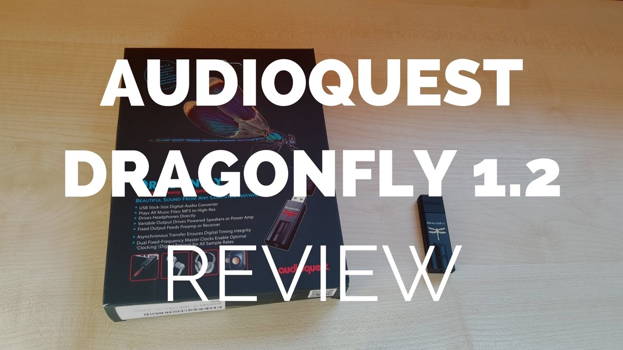 Review: Audioquest Dragonfly 1 2 USB Dac and Headphone Amp