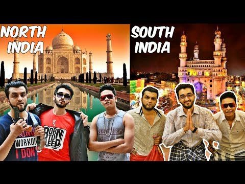 North Indians vs South Indians l Lifestye l Fights l People l TheBaiganVines