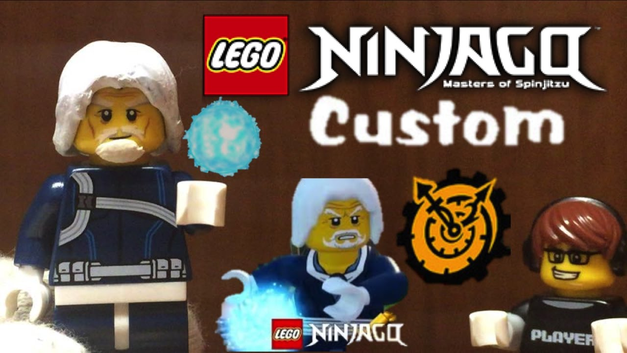 Lego Ninjago Custom Zane S Grandfather Original Elemental