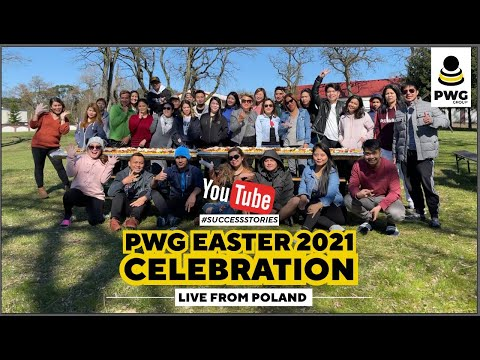 PWG Group Easter Celebration - Poland Team