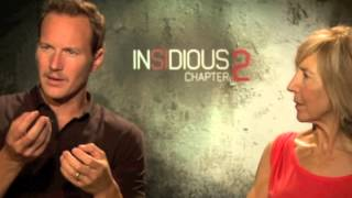 Insidious actors Patrick Wilson & Lin Shay, and producer Jason Blum chat with Mel.