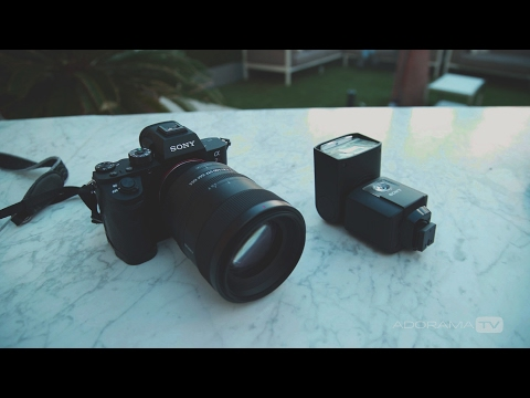 Sony Artisans at WPPI Talk Alpha Lenses and Flash: FE 85mm f/1.8, FE 100mm f/2.8 and HVL-F45RM Flash