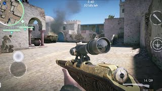 New Map - Tunisia Gameplay (World War Heroes Android)