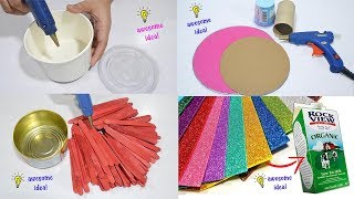 6 EASY AND AWESOME DIY PROJECTS THAT YOU CAN MAKE ON YOUR FREE TIME!
