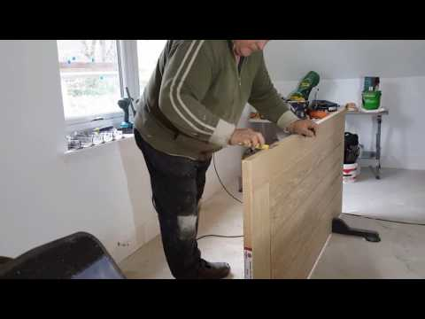 Hinge Jig Oak Doors ×3