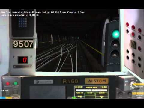 OpenBve:On-Board R160A  P Train LaGuardia Airport Delta Terminal to 1 Av-34 St