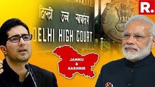 Shah Faesal Moves Delhi Hc Challenging His Detention