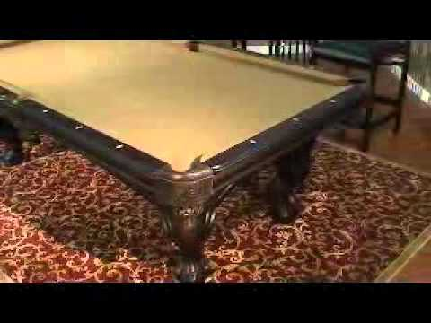 An American Heritage Billiards Billiard Table YouTube - American heritage billiards pool table