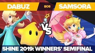 Dabuz Vs Samsora - Winners' Semifinals: Ultimate Singles Top 12 - Shine 2019