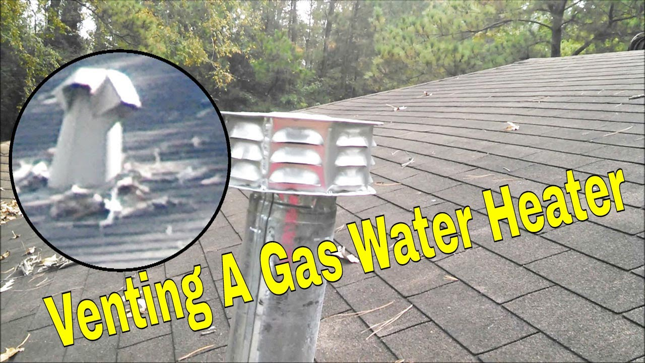 Shocking Easy Gas Water Heater Vent Replacement 👍👍👍 Youtube