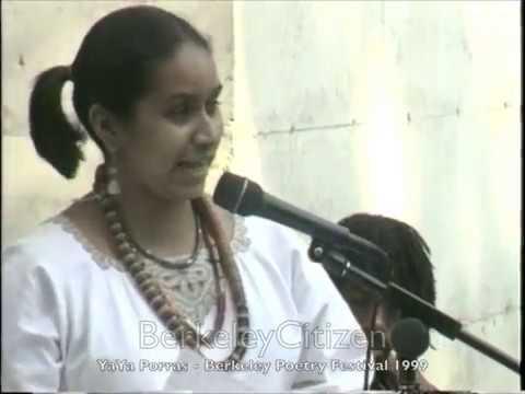 YaYa Porras - Berkeley Poetry Festival 1999