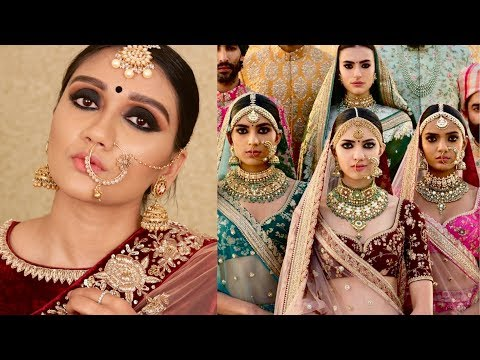 SABYASACHI INSPIRED BRIDAL MAKEUP TUTORIAL | THE BIG FAT INDIAN WEDDING SERIES