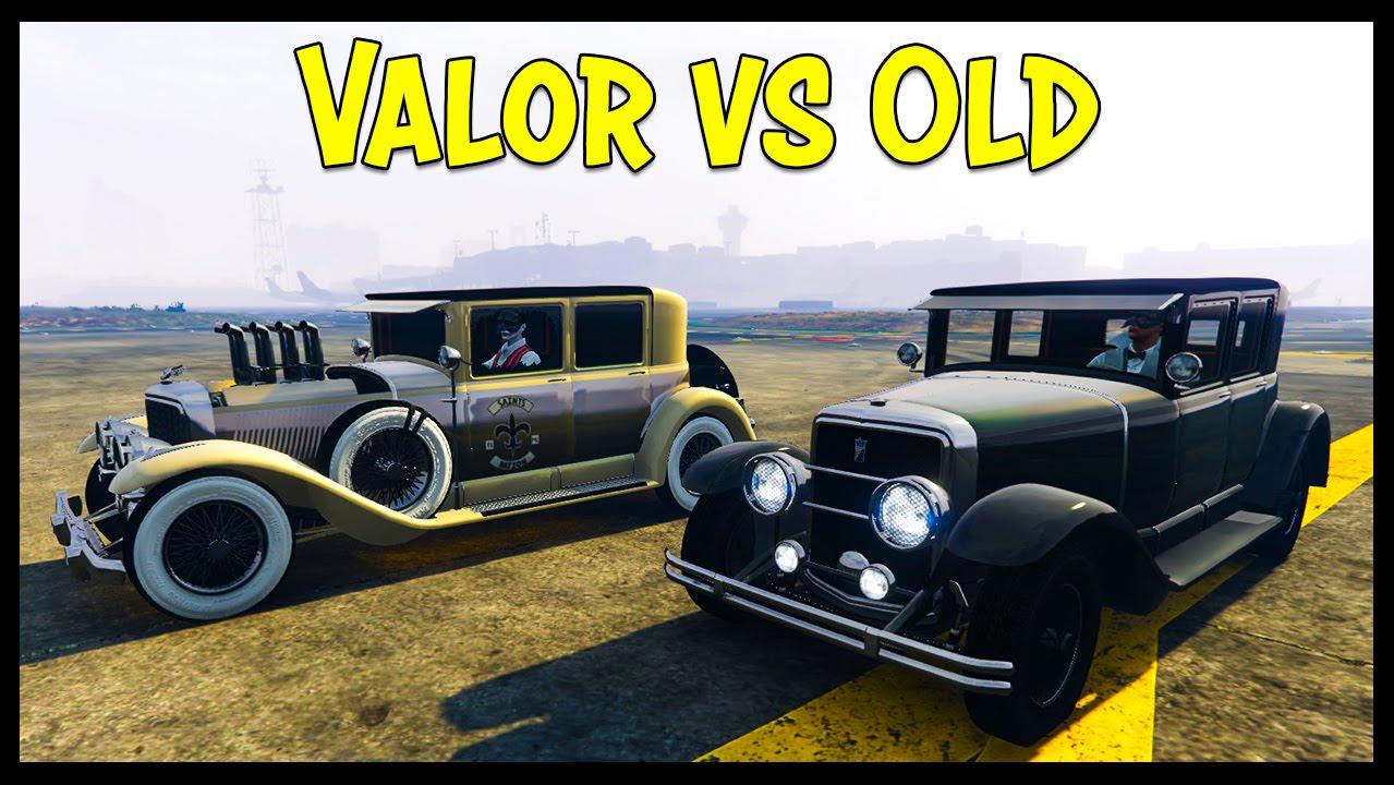 GTA 5 Online ROOSEVELT VALOR VS OLD ROOSEVELT! Is The New Car Worth ...