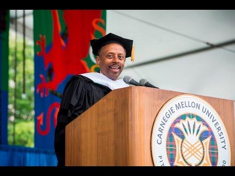 Keynote Speaker Earl Lewis - Commencement 2016
