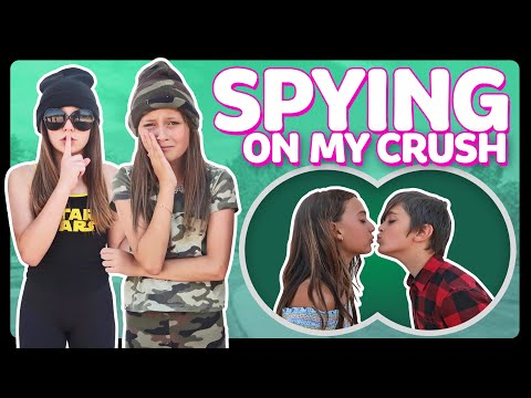 SPYING On My CRUSH for 24 HOURS Challenge in PUBLIC *GONE WRONG* 💔  Sophie Fergi