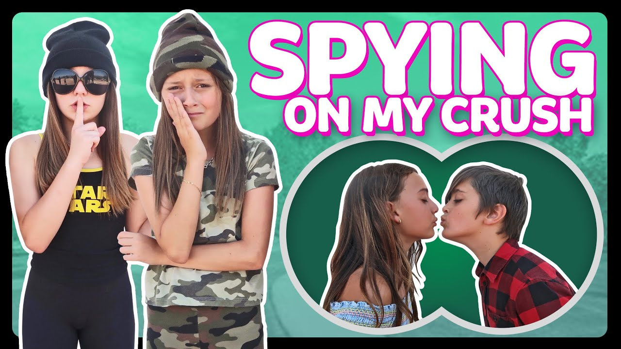 SPYING On My CRUSH for 24 HOURS Challenge in PUBLIC GONE