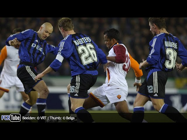 2005-2006 - UEFA-Cup - 01. 16de Finale - Club Brugge - AS Roma 1-2