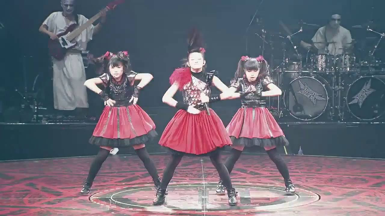 Catch Me If You Can BABYMETAL BLACK NIGHT LEGEND DOOMSDAY - YouTube