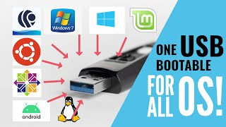 How to make a MultiBoot USB for all OS