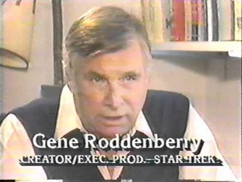 """""""Star Trek"""" creator Gene Roddenberry on """"Good Morning America"""" 1986"""