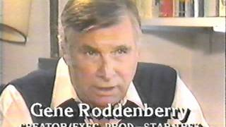"""Star Trek"" creator Gene Roddenberry on ""Good Morning America"" 1986"