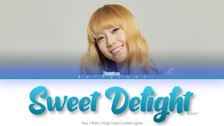 JESSICA Sweet Delight Color Coded Lyrics (Han/Rom/Eng)