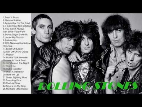 The Rolling Stones Greatest Hits Full AlbumLive 2017 The Best Songs Of The Rolling Stones Nonstop
