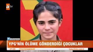 YPG'nin ölüme gönderdiği çocuklar - atv Kahvaltı Haberleri
