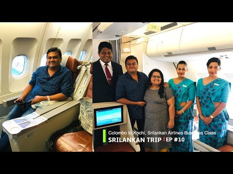colombo-to-kochi,-srilankan-airlines-business-class-journey