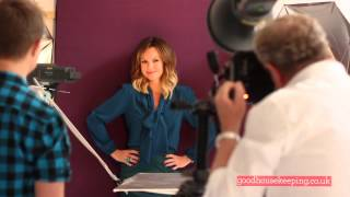 Amanda Holden Cover Shoot  Good Housekeeping UK