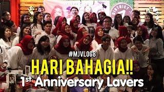 #MJVLOG8 - HARI BAHAGIA!! 1st Anniversary Lavers.. Aku sayang kalian semua