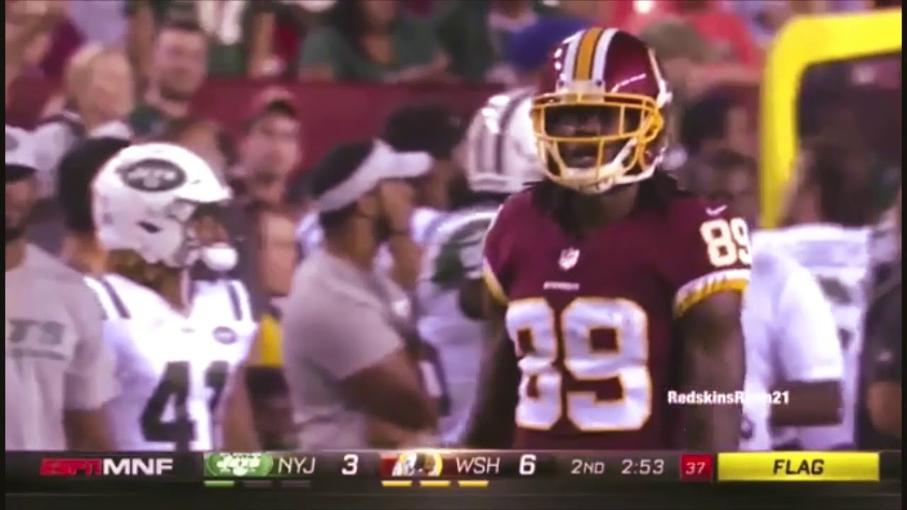 quality design 368ec aa4dd WR Cam Sims Redskins Preseason Weeks 1 and 2 Highlights