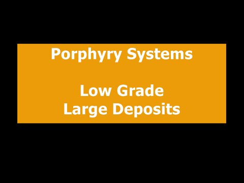 ORE DEPOSITS 101   Part 3   Porphyries