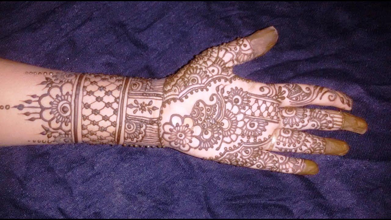 Bridal Mehndi Full Hand Designs : Beautiful mehndi designs bridal henna for