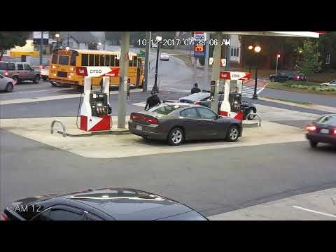 SHOOT-OUT BETWEEN RIVAL DRUG DEALERS AT GAS STATION