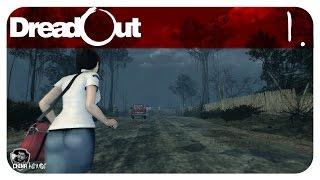 """DreadOut 1.9 Gameplay - Detonado / Walkthrough - Acto 0 Parte 1 - """"Começo"""""""