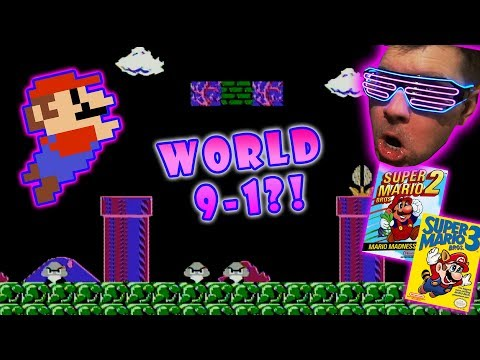 Super Mario Bros 1, 2, and 3 NES Controversy! Plus World 9-1 Hack?! Chris NEO Nintendo Retro Show