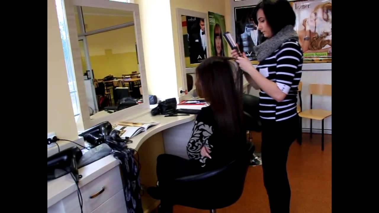 Technik Usług Fryzjerskich Nauczymy Cię Być Piękną Youtube