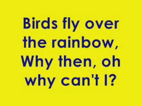 Somewhere over the rainbow karaoke (full version)