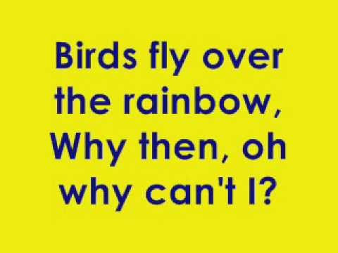 Somewhere over the rainbow karaoke (full version)