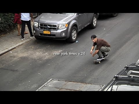 New York Times V.24 | TransWorld SKATEboarding