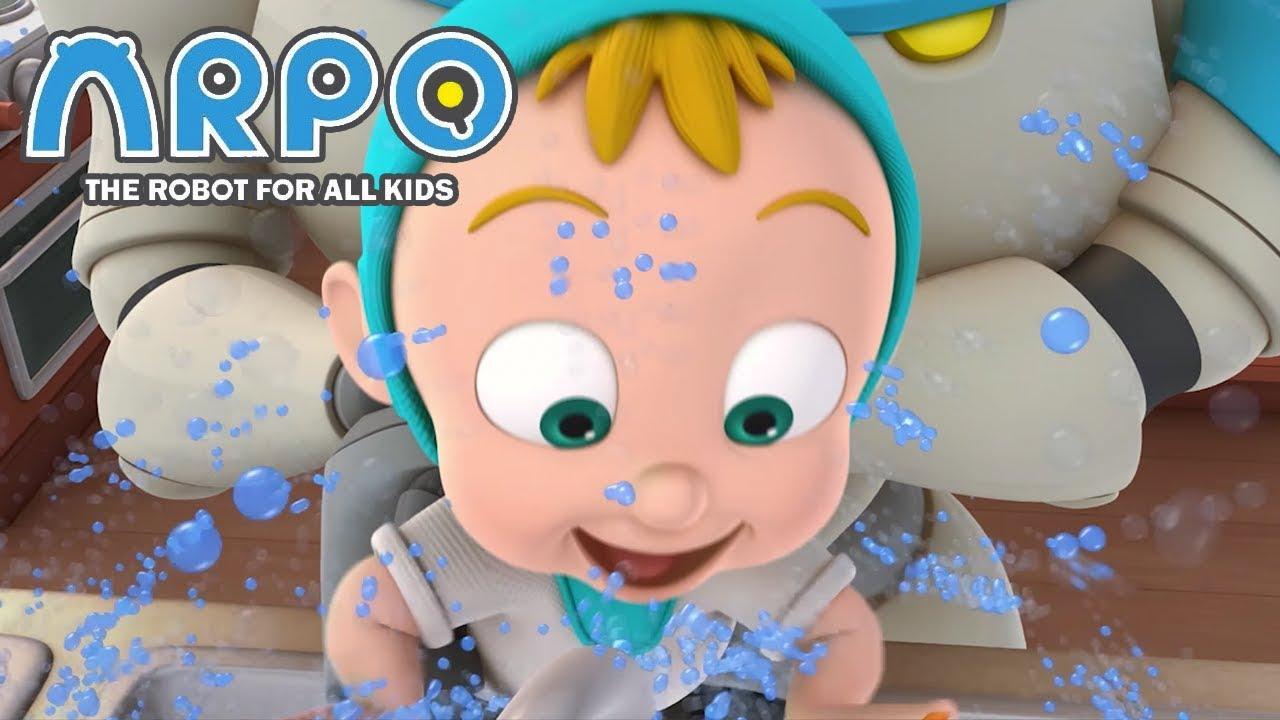ARPO The Robot For All Kids - SPLASHY WATER FUN | Compilation | Cartoon for Kids