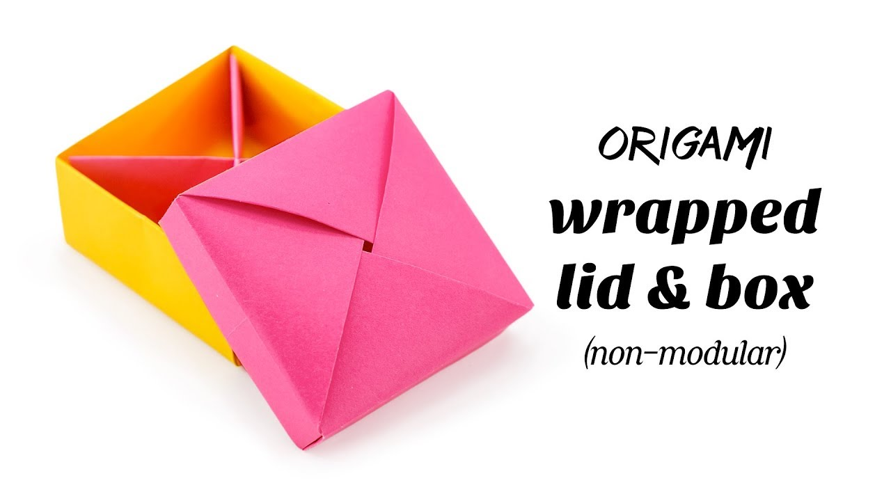 3 Easy Modular Origami Boxes Tutorial | Creative DIY - YouTube ... | 720x1280