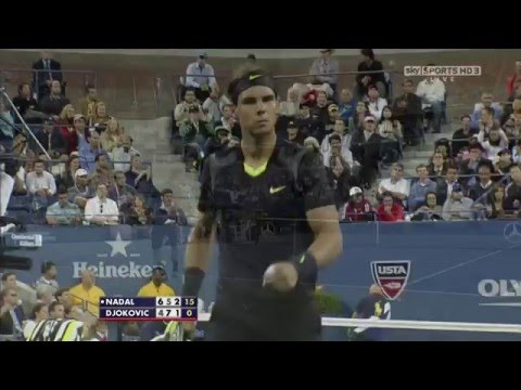 Rafael Nadal and Novak Djokovic in their first Grand Slam final - Enjoy 50fps HD