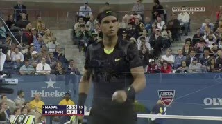 Nadal v Djokovic - Us Open 2010 Final .. 720p50