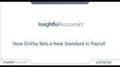 OnPay + Insightful Accountant: Payroll Services Demo