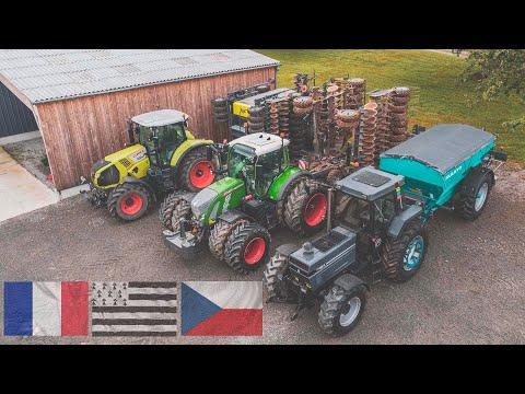 🇨🇿 Za projektem Farming Together do Francie  🇫🇷 - sklizeň hrachu, návštěva biofarmy, podmítka...